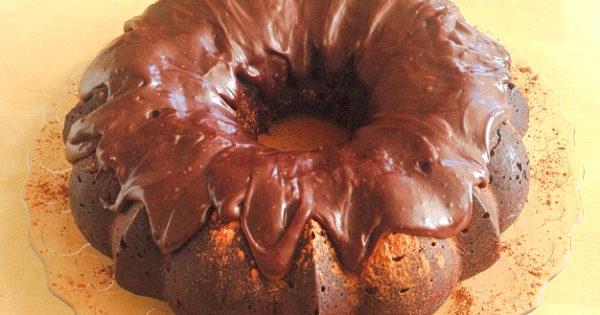 Chocolate Bundt Cake with Rich Chocolate Ganache