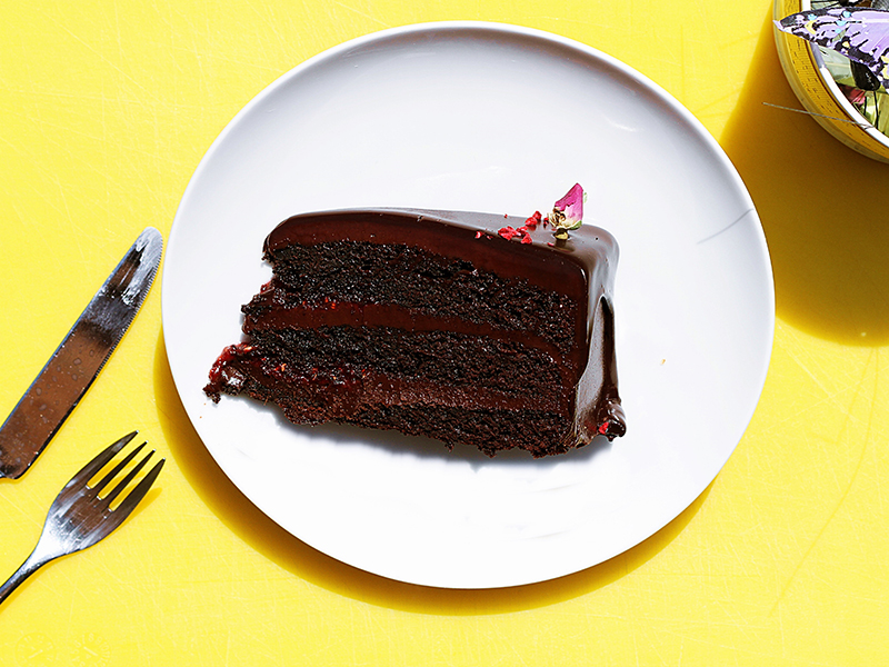 Quick and Easy - Triple Chocolate Layer Cake