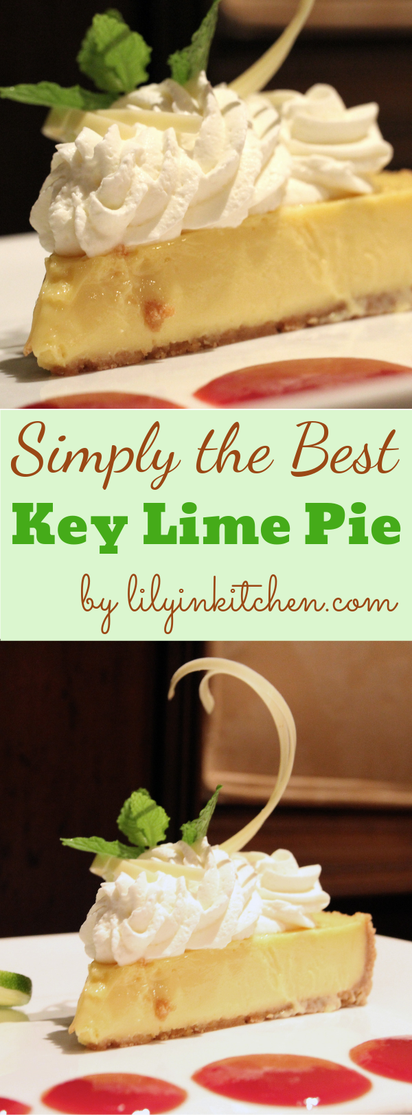Simply the Best Key Lime Pie Recipe I have found! This recipe is so delicious, easy summer dessert with only a few, simple ingredients and is like a little taste of tropical paradise!   This quick and easy key lime pie is a family favorite dessert! #instantpot #keylime #keylimepie #pie #dessert #instantpotdessert