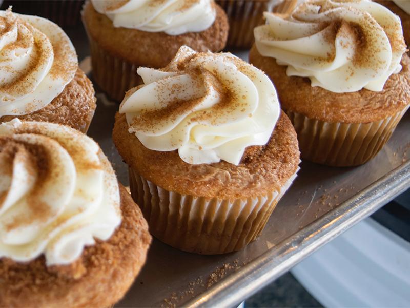 Pumpkin Ginger Cupcakes Recipe1