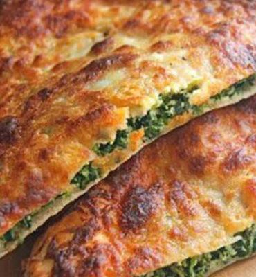Spinach Ricotta Calzone