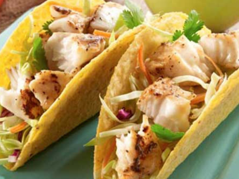 Lemon Pepper Fish Tacos