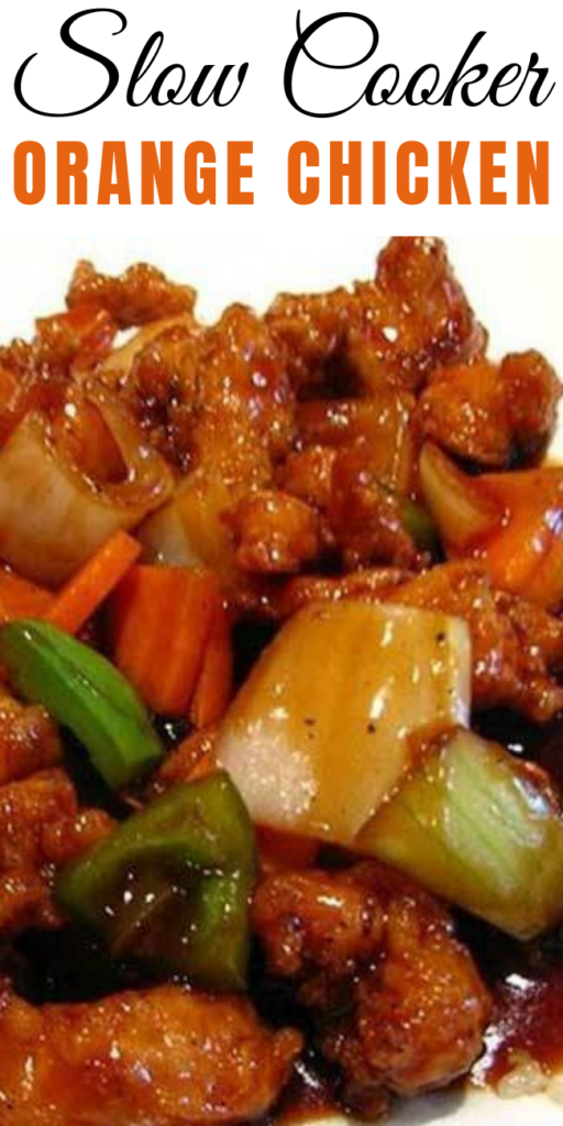 Slow Cooker Orange Chicken  - You can make this favorite Slow Cooker Orange Chicken right in your slow cooker. It doesn't get any easier than that. Saucy and sweet and sure to be a weeknight winner.#slowcookerorpressurecooker #PressureCookerOrangeChicken #InstantPotOrangeChicken #SlowCookerOrangeChicken #orangechickenrecipe
