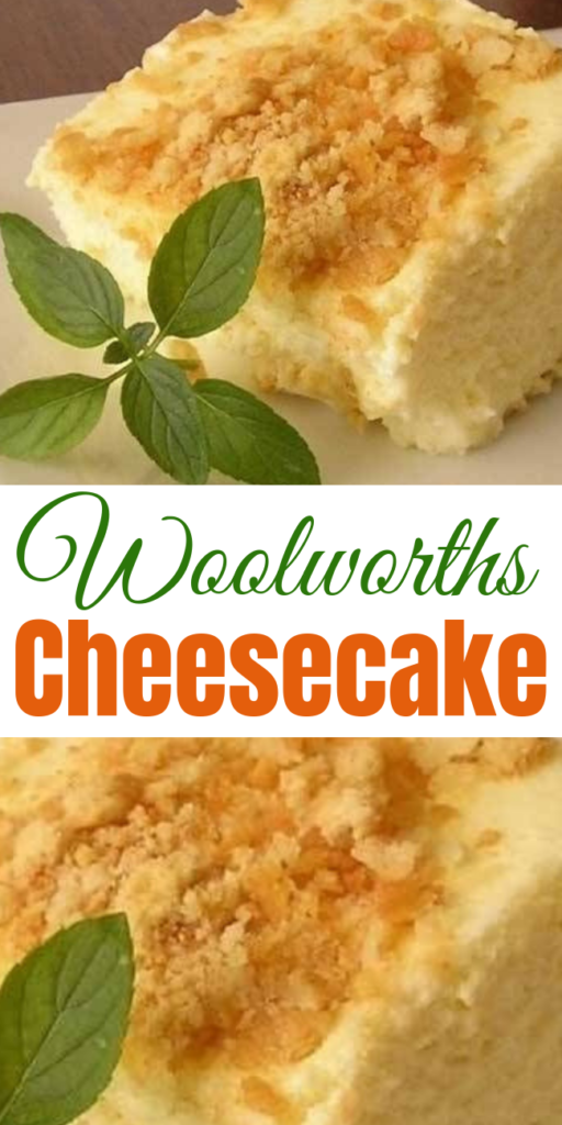 Woolworths Cheesecake - The menu at Woolworth's had so many simple, yet amazingly delicious dishes and desserts to offer! One of the desserts I can remember was the Woolworths Cheesecake! #famous #woolwhorth #cheesecake #recipes #cake