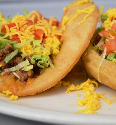 Puffy Tacos - Recipe for Puffy Tacos – You could use any of your favorite taco ingredients with these Puffy Taco Shells! #tacorecipe