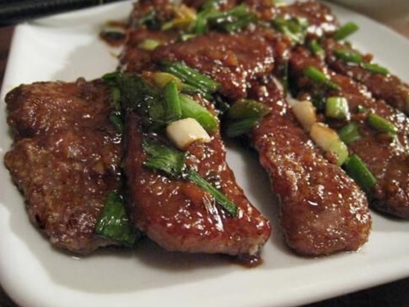 Copycat P F Changs Mongolian Beef