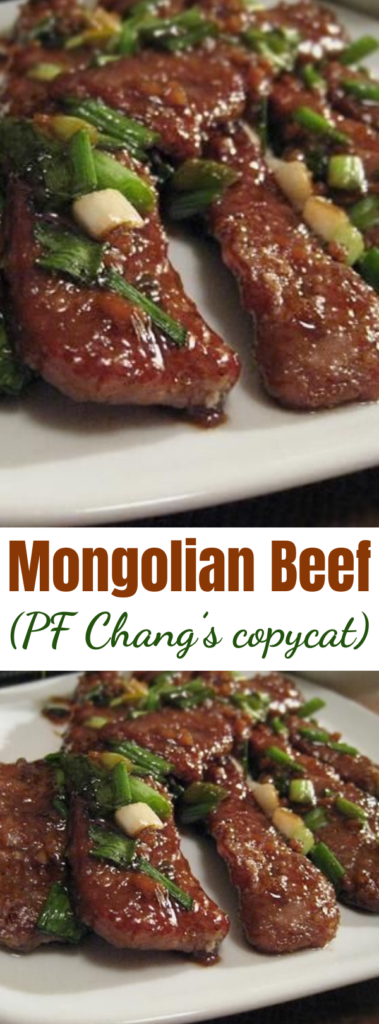 Copycat P F Changs Mongolian Beef - Recipe for Copycat P F Changs Mongolian Beef – This copycat recipe is as good as the original and cooks up really quick! #copycat #pfchangs #mongolianbeef #beefrecipes #quickrecipe #dinnerrecipes