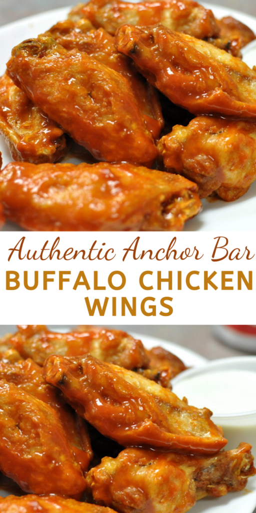 This is the original spicy Buffalo chicken wings recipe from the Anchor Bar in Buffalo, NY. You can adjust the heat by adding more or less cayenne and Tabasco.