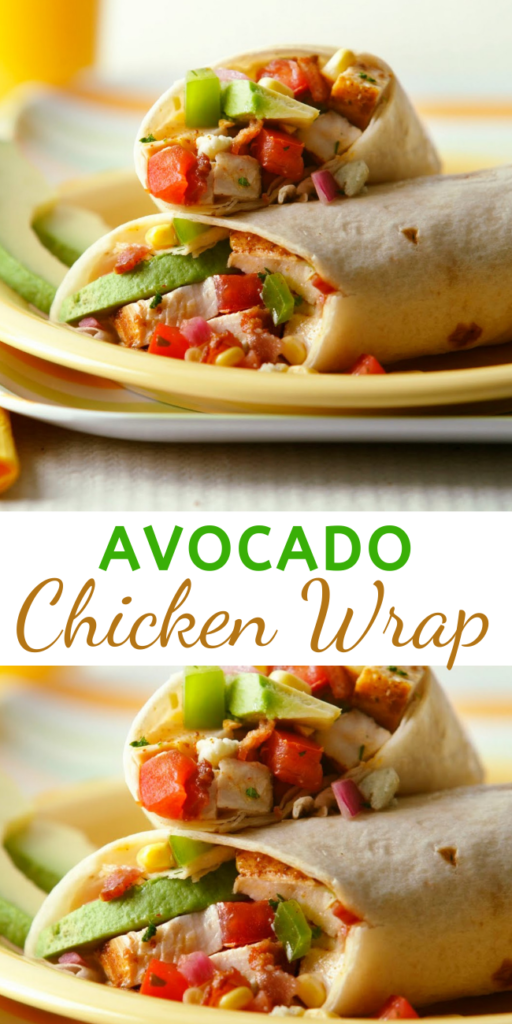 Different Mexican ingredients make for some of the best options to put inside a wrap. These chicken and avocado wraps are perfect for dinner or even to prepare for lunch. This is a very simple recipe and you could make several additions if you would prefer.