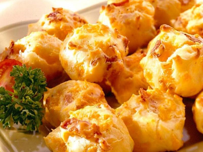 Bacon Cheddar Puffs