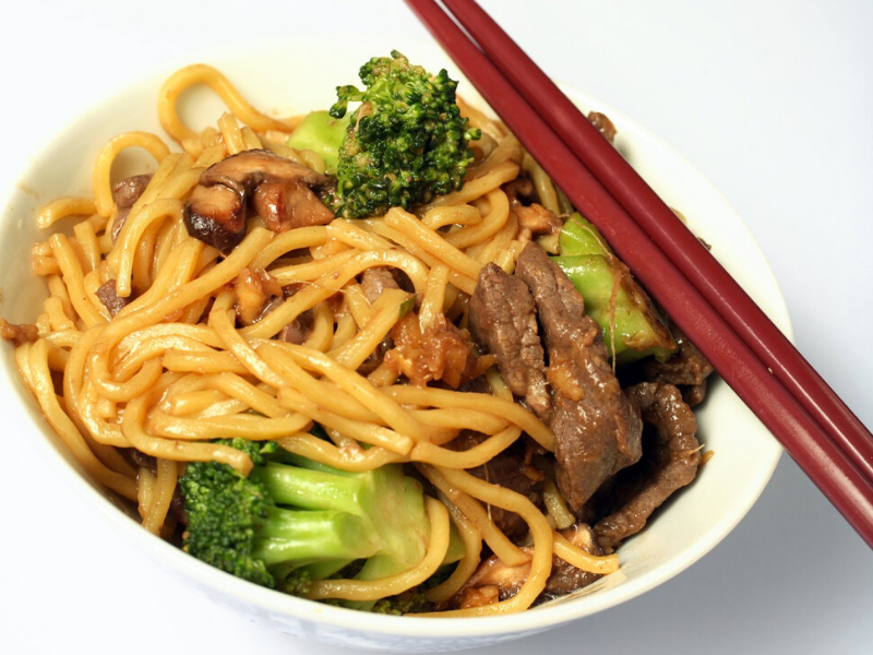 Beef and Broccoli Lo Mein