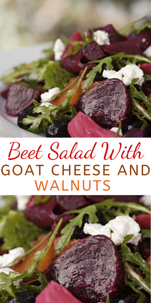 This scrumptious salad with a colorful display of dark-red beets on a mountain of mixed greens and fresh herbs is perfect. A sprinkling of fatty-acid-rich walnuts, which are thought to boost sex hormones, and crumbled goat cheese add tasty accents to the easy recipe.