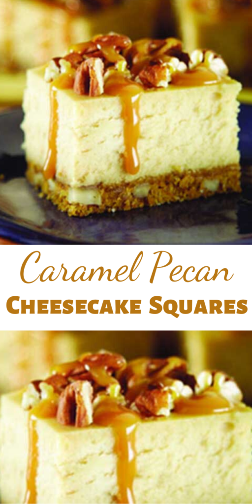 Who can resist the combination of caramel and pecans? Now take them, and add them to a cheesecake. What you end up with is pretty much the most irresistible dessert ever!