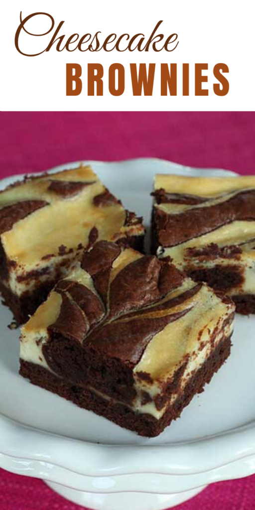 Cheesecake AND brownies…combined?! I will take as much as you will make for me.