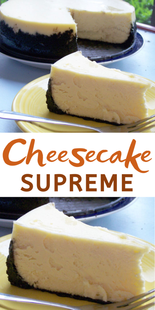 This is the smoothest, creamiest, AND richest cheesecake I have ever had. This is definitely my cheesecake recipe for life.