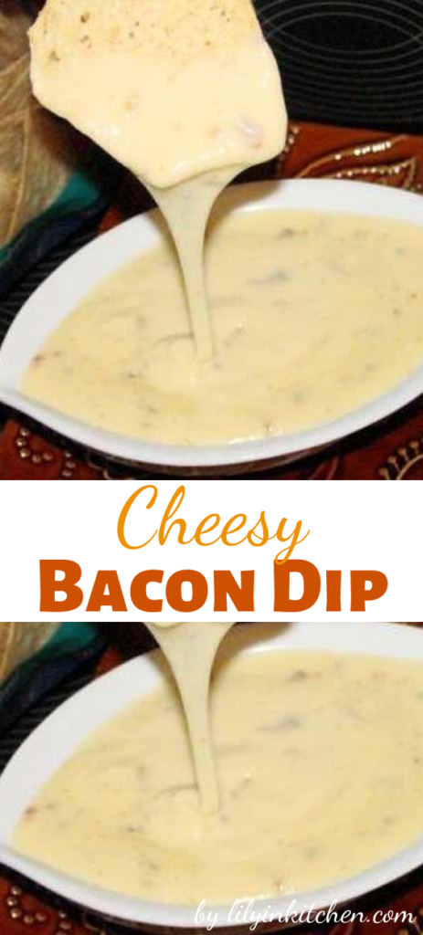 This is a simple dip to make with ingredients I always have on hand. I got this from a recipe card at the grocery store.