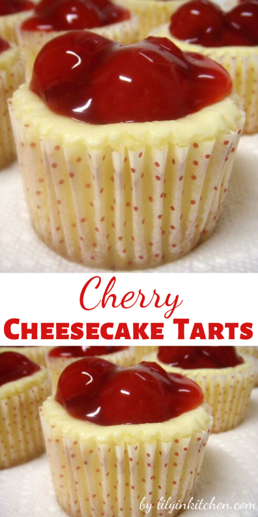 Recipe for Cherry Cheesecake Tarts – These little cheesecakes are fantastic. Not only that, but they're laughably easy to make. You've absolutely got to try them !