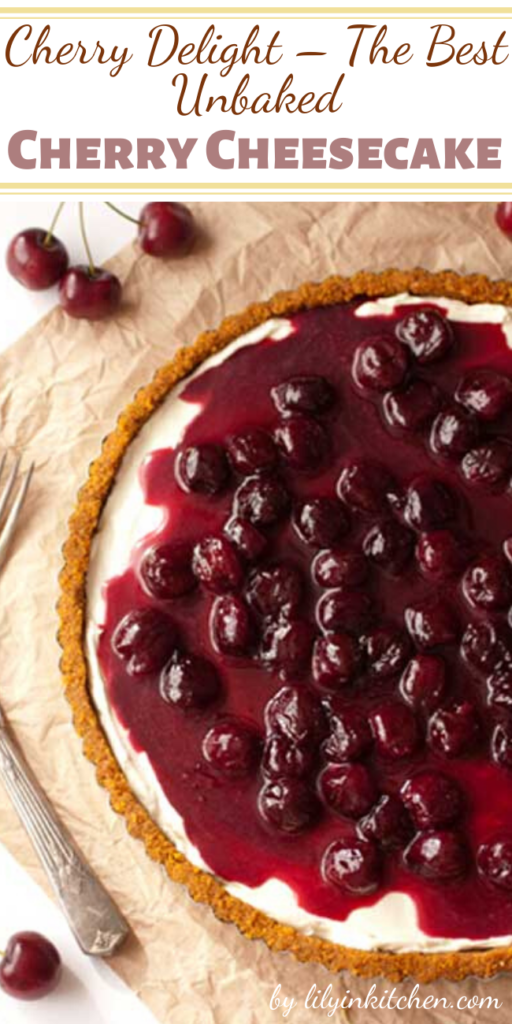 Graham cracker crust, simple cream cheese filling, topped off with cherry pie filling. Easy, fast, basic. To anyone else it's just another no-bake cheesecake, nothing special. To us it's an institution, a tradition, a phenomenon.