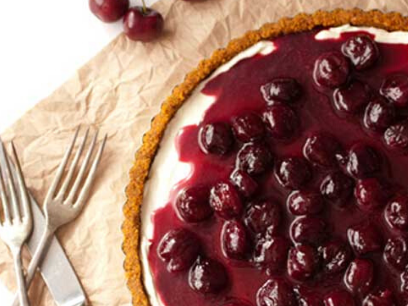 Cherry Delight – The Best Unbaked Cherry Cheesecake Ever