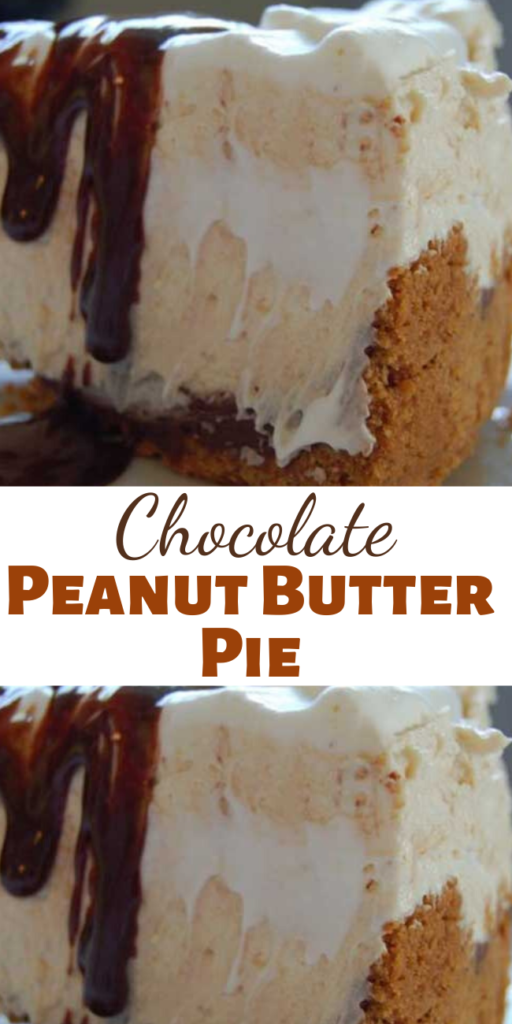 Tomorrow is Pi(e) day. You know Pi, 3.14. So in honor of that, we are sharing this awesome chocolate peanut butter pie recipe with you. Think giant peanut butter cup…only better!