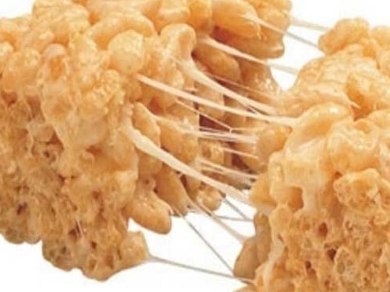 Coconut Oil Rice Krispie Treats