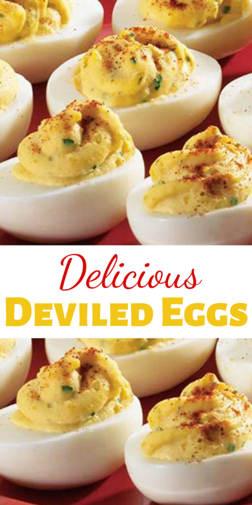 From holiday parties to warm weather barbeques and potluck suppers, these classic deviled eggs will spice up any occasion.