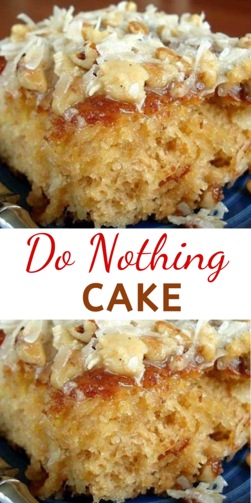 When a friend brought this to a church supper, EVERYONE insisted on getting the recipe. Very moist and delicious.. This really is just about a do nothing cake, unless you count walking across the street to the neighbor's to borrow sugar!