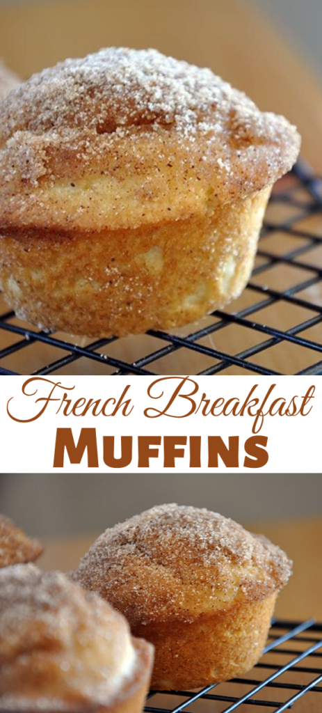 Eat these warm – when warm, these French Breakfast Muffins pretty much just melt in your mouth and it's heavenly.