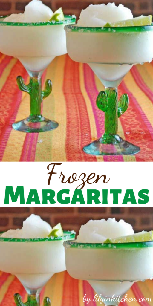 Recipe for Frozen Margaritas – From the start, this margarita proved addictive and led to shenanigans. It tasted so good going down, it was easy to overdo it.