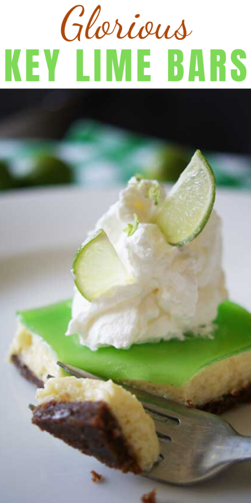 These Glorious Key Lime Bars are so smooth. So creamy. So rich and dreamy. So bursting with juicy freshness. Once you have a bite, it's really all but impossible to stop. Oh lawd, I have to fan myself just thinking about it.