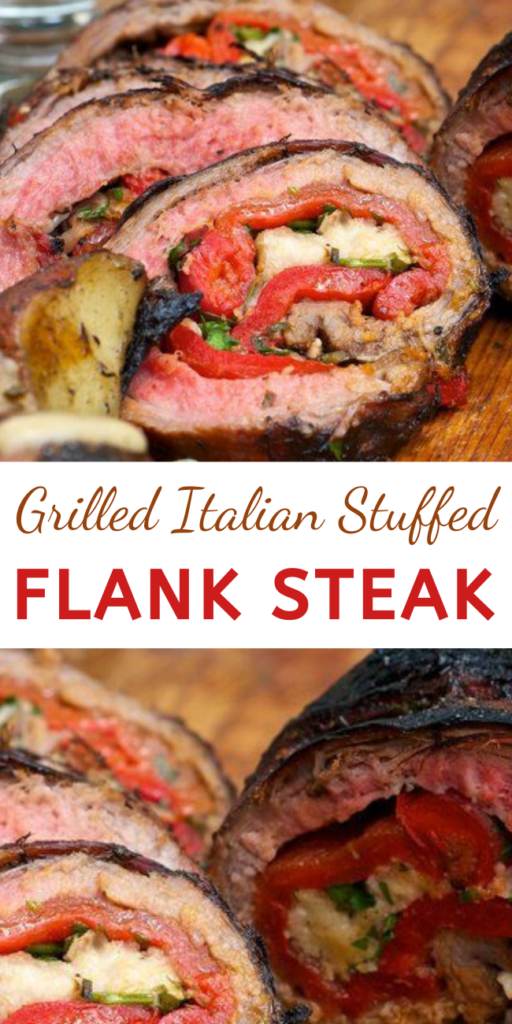 This grilled and stuffed steak creation tastes amazing and is not that hard to do. Grab some twine and tie one on this spring or summer!