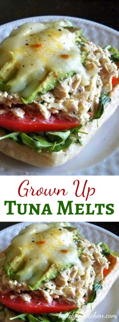 Recipe for Grown Up Tuna Melts – Standing in front of my pantry, I realized I had plenty of tuna that I never really got around to using. Sure, I could have made a basic tuna salad sandwich, but that'd be no fun. And then it came to me: Grown Up Tuna Melts.