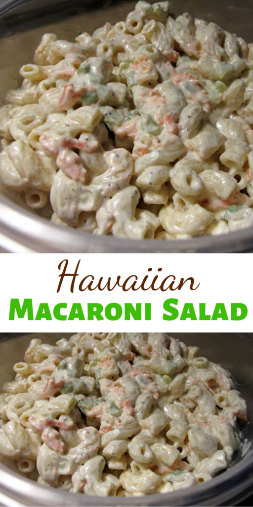 Highly addicting and FULL of flavor, this Hawaiian Macaroni Salad would easily be at home here in the Deep South amidst some pork ribs or pulled pork sandwiches!