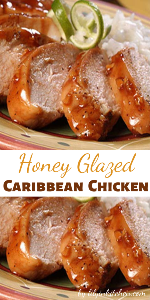 This Honey Glazed Caribbean Chicken recipe will take a little work, but your taste-buds will thank you with every bite of this juicy chicken.