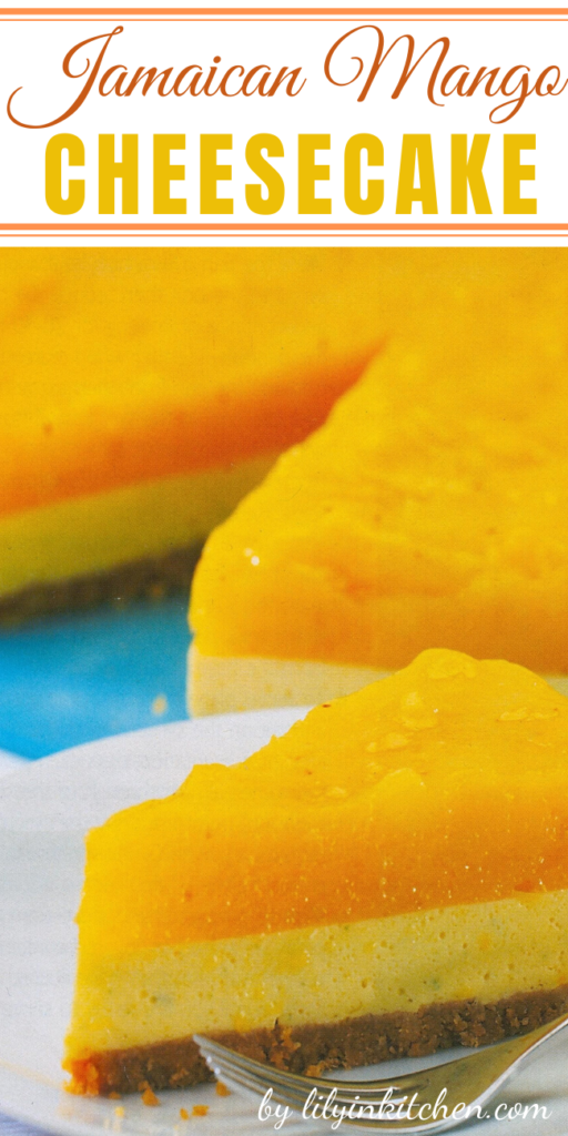 Bring a bit of summer to your winter. This Jamaican Mango Cheesecake can do just that. If your not able to find the Jamaican ingredients I'm sure this would be delish with what you have available.