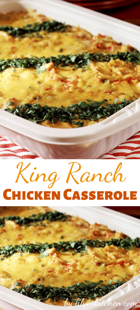 We bet that after one taste of this rich, creamy King Ranch casserole recipe, you'll be hooked too. It also travels well, making it a great choice to take to a covered-dish dinner.