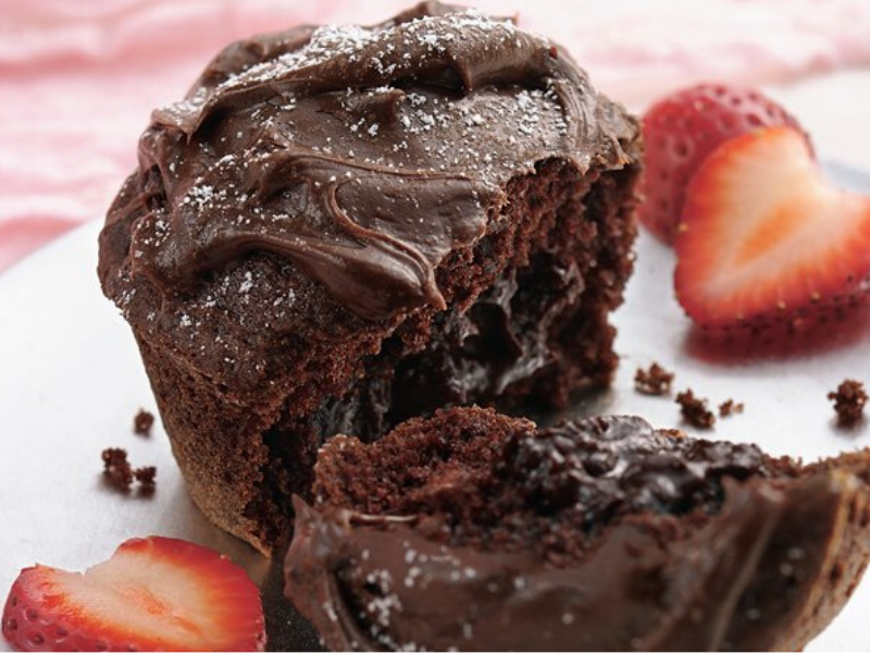 Molten Chocolate Mini Cakes