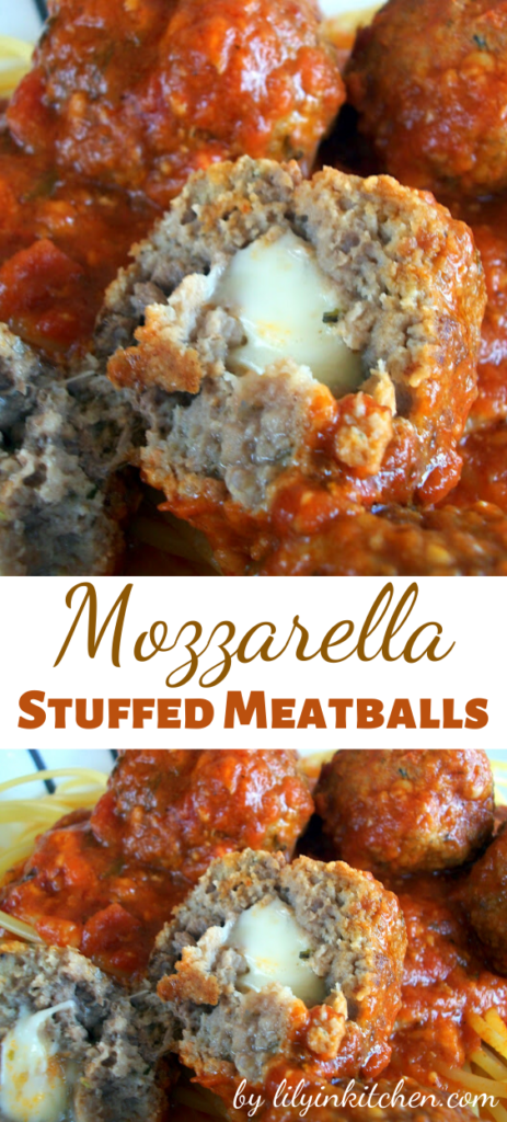 These meatballs are amazing! I don't make them often enough but am always so glad when I finally do. They are great on top of spaghetti and they also make fantastic meatball hoagies!
