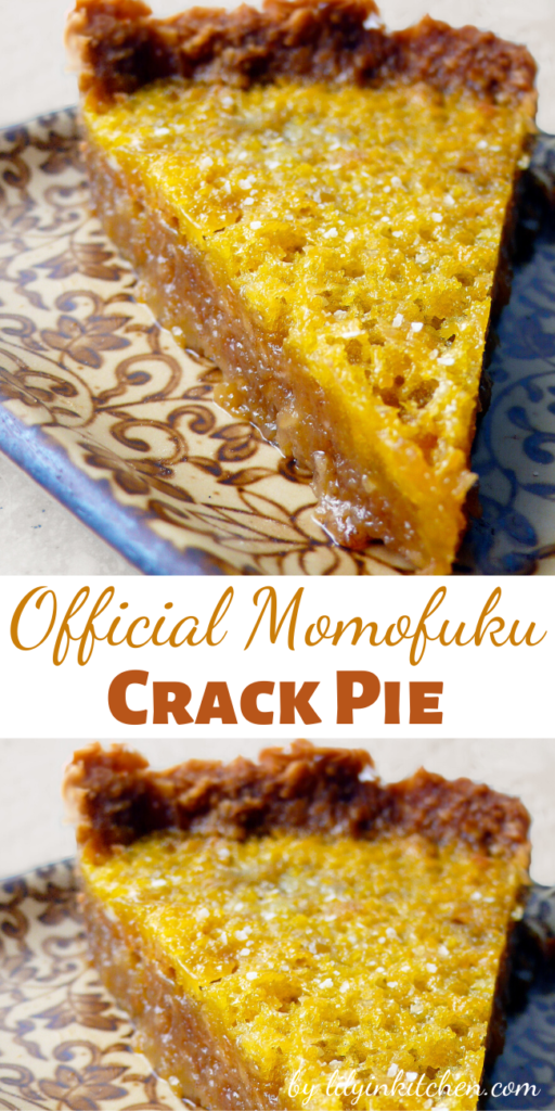 I've never tried crack before, but after having this pie, I don't feel I ever need to. This sweet treat will leave you addicted, euphoric, and fiending another bite.