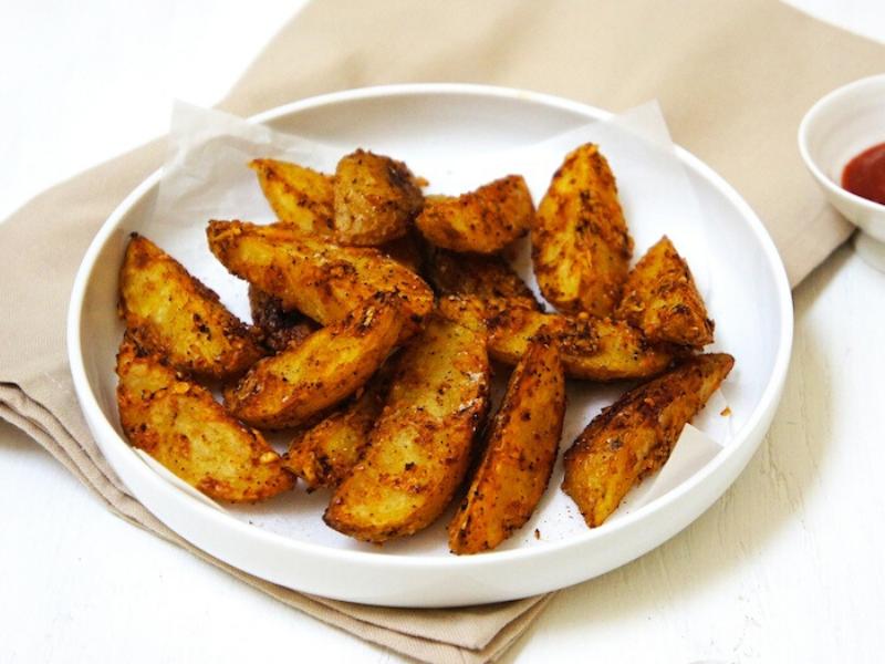 Parmesan Potato Wedges