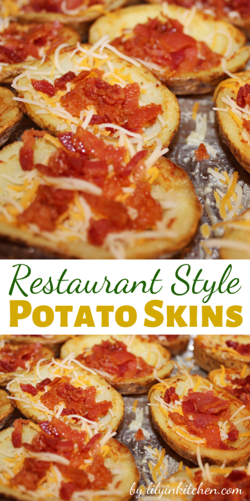 Crispy bacon, ooey, gooey cheese and crispy yet soft potatoes combine to make the most awesome of appetizers!