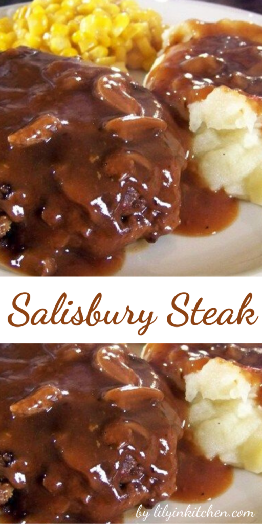 This Salisbury Steak recipe has been in my family for years. It's easy to cook, but tastes like it took hours to make! I usually make enough extra sauce to pour over mashed potatoes. YUM!