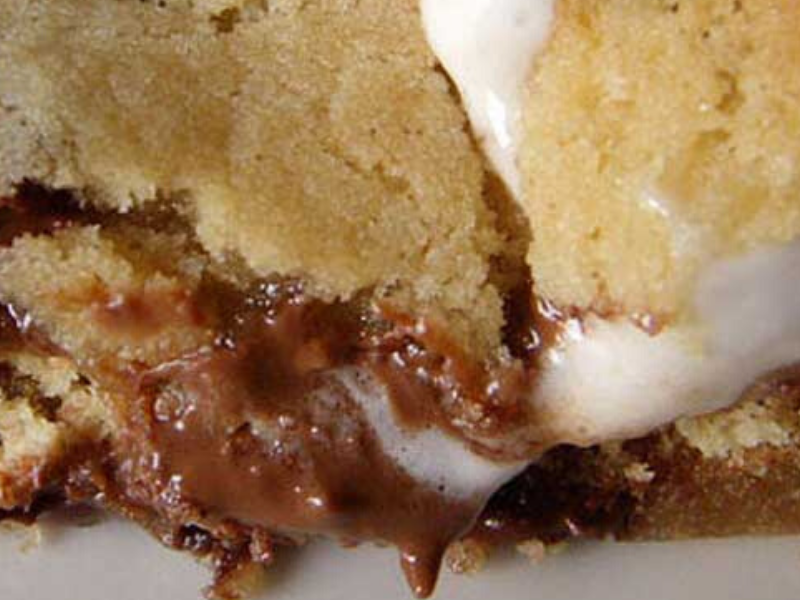Smores Stuffed Chocolate Chip Cookies