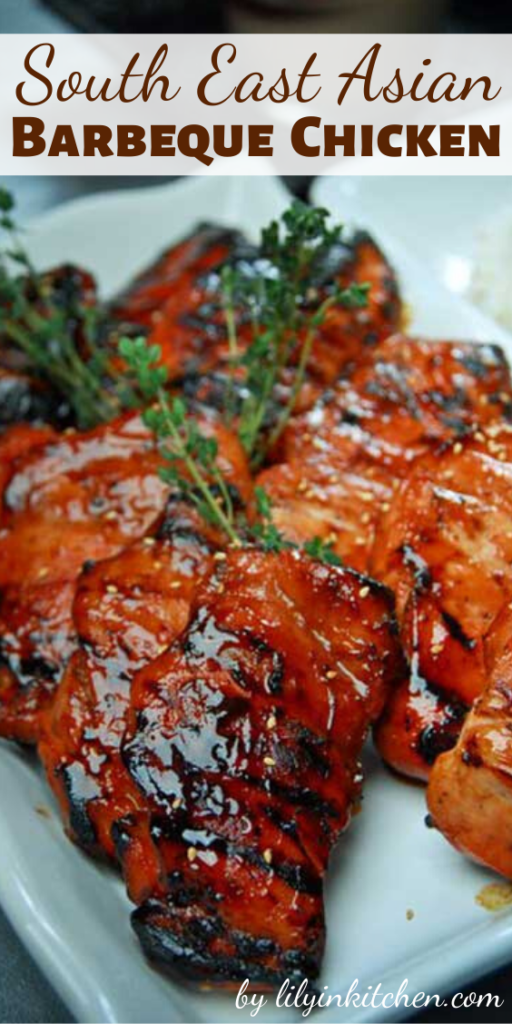 Recipe for South East Asian Barbeque Chicken – Who doesn't look forward to the warmer months? It is the perfect time to go out and spend some time with family and friends.