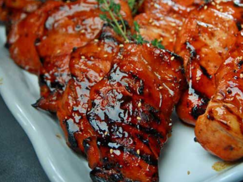 South East Asian Barbeque Chicken