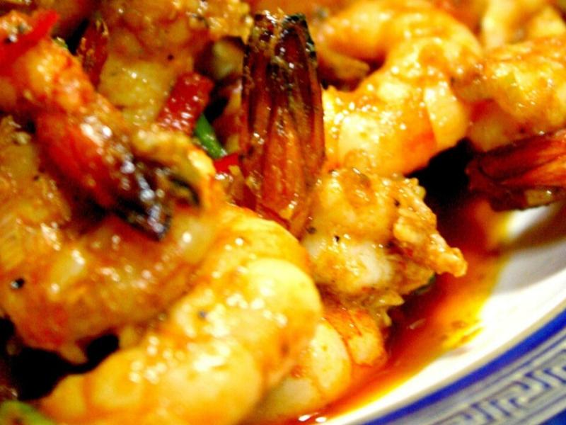 Stir Fried Sriracha Shrimp