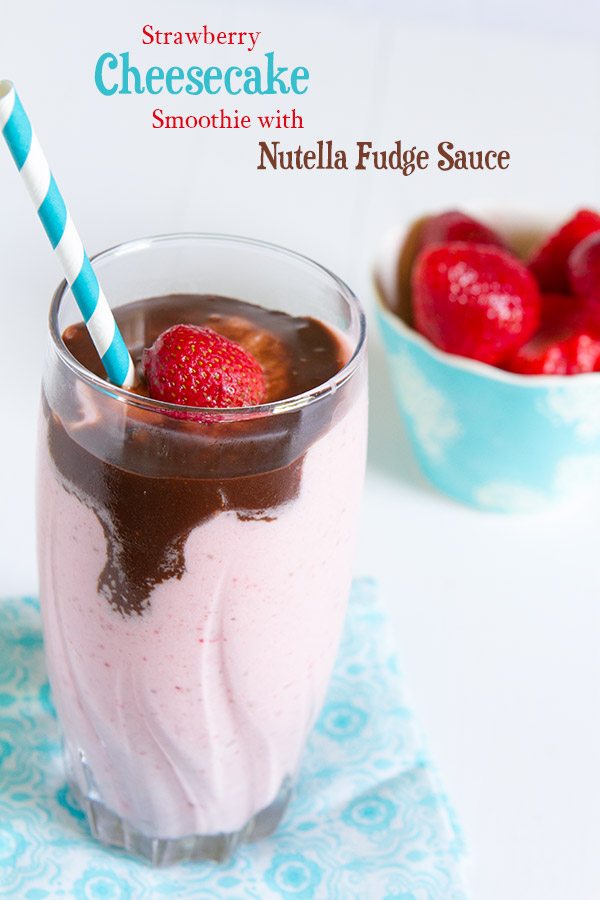 My smoothies are thick and creamy like a milk shake, sometimes I have to eat them with a spoon because they're too thick for a straw. In fact, if you reduce the milk in this recipe, it's almost the same consistency as soft-serve ice cream or frozen yogurt.