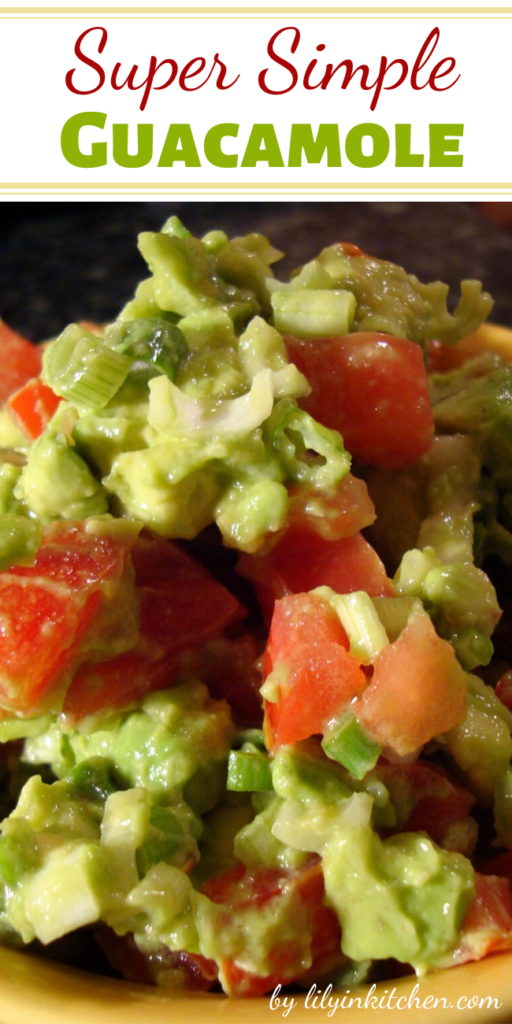This easy recipe lets the creamy, rich avocado flavor take center stage. It's a great complement to any Mexican meal, & also makes a great sandwich spread.