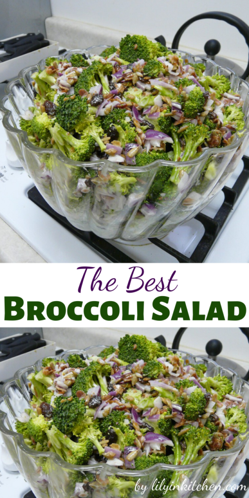 Summer is the perfect time to whip up a quick and easy broccoli salad. So you will definitely want to try The Best Broccoli Salad, a hugely popular dish that wins them over every time.