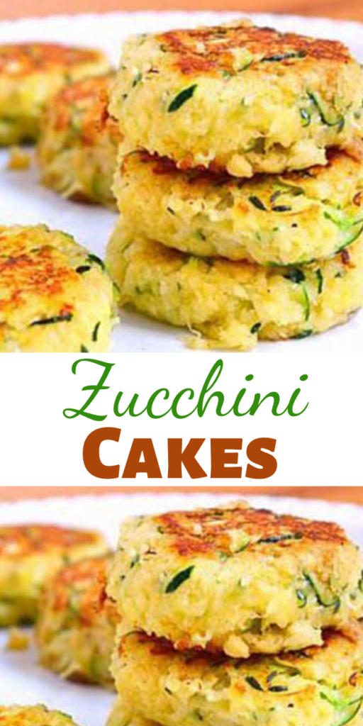 While these crunchy cakes are more yellow in color than green, they're still a perfect St. Patty's Day treat for your family and friends. Each scrumptious Zucchini Cake is totally satisfying and packed with vitamin-rich zucchini, yet strikingly low in calories, carbs, and fat.